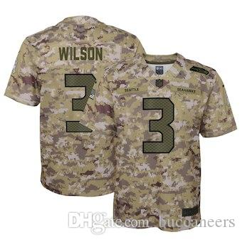 Wholesale 3 Russell Wilson Jersey 12th Fan Seattle Seahawks Shaquem Griffin  for cheap
