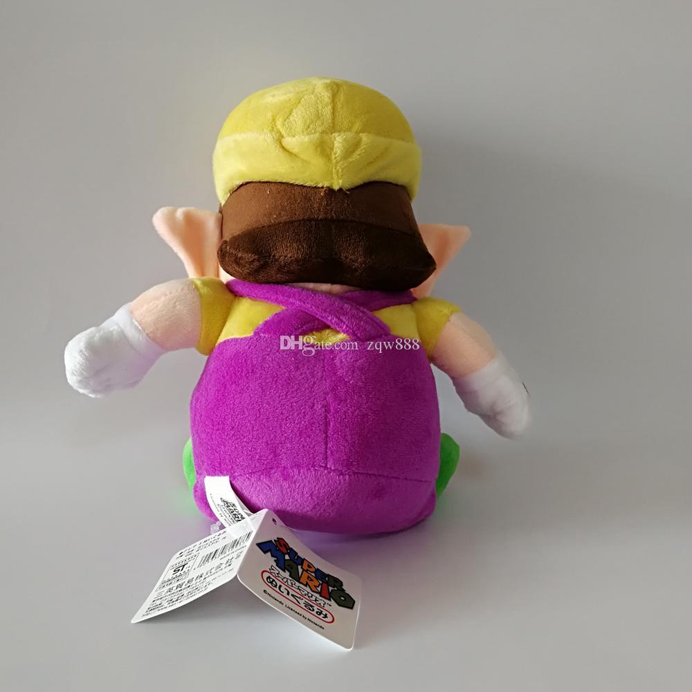 Nouvelle arrivée 100% coton 24cm 28cm Wario Waluigi Luigi Bros Peluche peluche pour les enfants meilleurs cadeaux