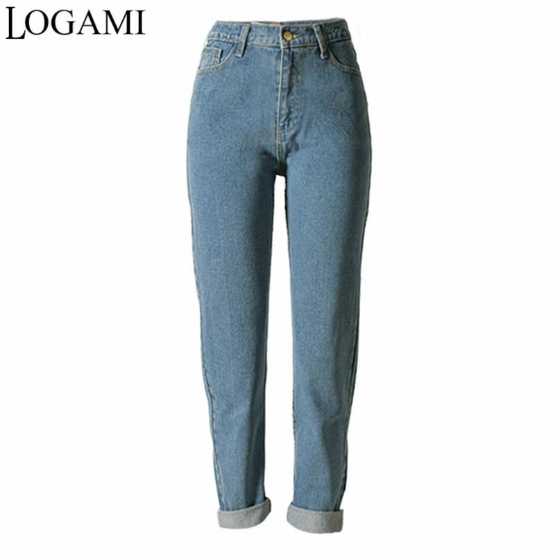 df3b42e05c25 Wholesale High Waist Boyfriend Jeans For Women Straight Jeans Femme Woman  Jean Trousers 2018 Online with  75.92 Piece on Tengdingskirt s Store