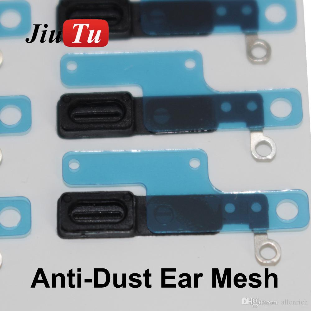 For iPhone 7G 4.7inch Inner Earpiece Ear Speaker Anti Dust Grill Mesh with Rubber Holder for 7 plus Replacement