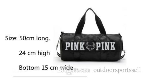 2018 ROSE sac à dos le grand sac de toile imperméable à l'eau yoga sac de sport style pratique extérieure routine est applicable