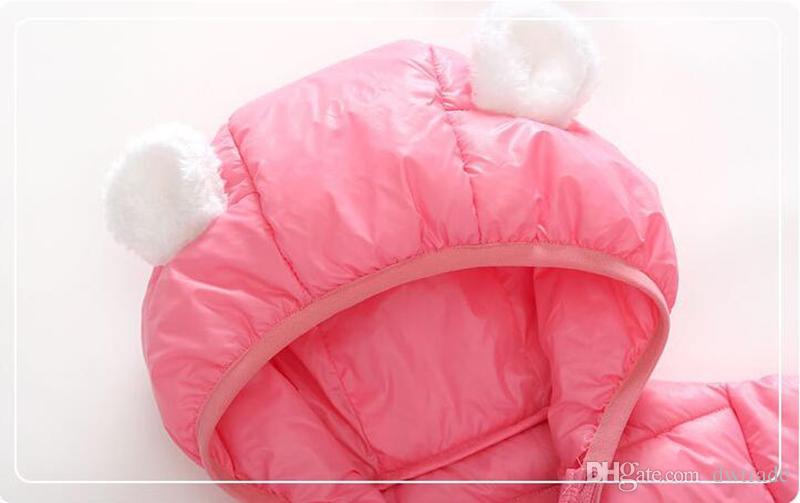 2017 Piumino invernale Parka bambina Cappotti, 90% Piumini Abbigliamento da bambino Abbigliamento da neve Cappotti Capispalla bambini