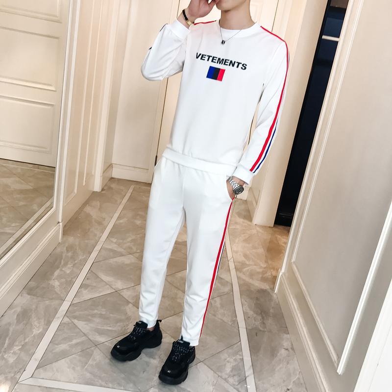 4ae318cb332 Brand Autumn Men s Tracksuits Set Fashion Casual Sportswear Youth ...