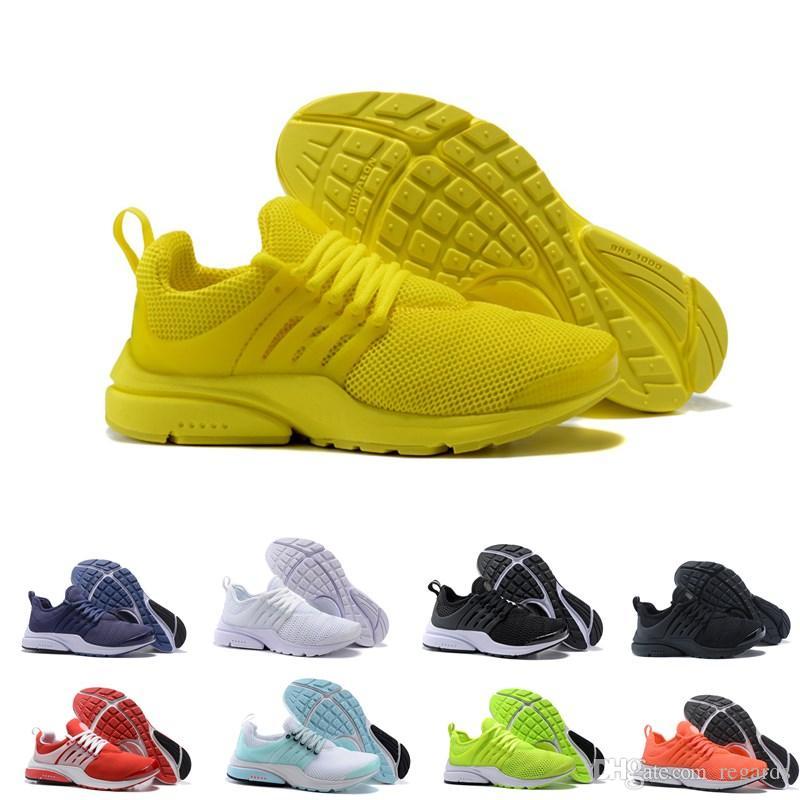 online store f2884 e6067 Zapatillas De Running Presto 5 De La Mejor Calidad Hombres Mujeres 2018  Prestos Ultra BR QS Amarillo Rosa Negro Oreo Deportes Al Aire Libre Moda  Zapatillas ...