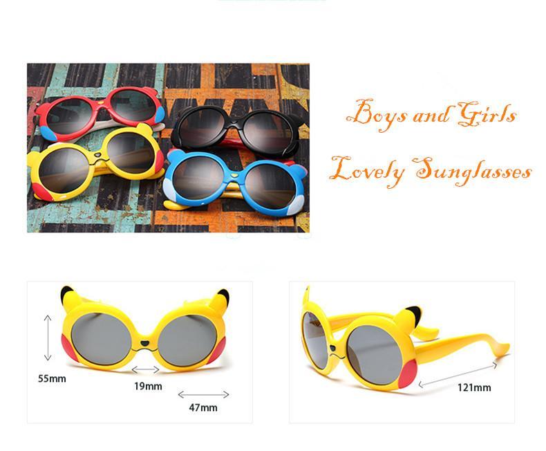 Высокое качество дети мультфильм поляризованные очки детские дети TR90 рамка солнцезащитные очки UV400 прекрасный мальчик девочки милый прохладный очки Очки