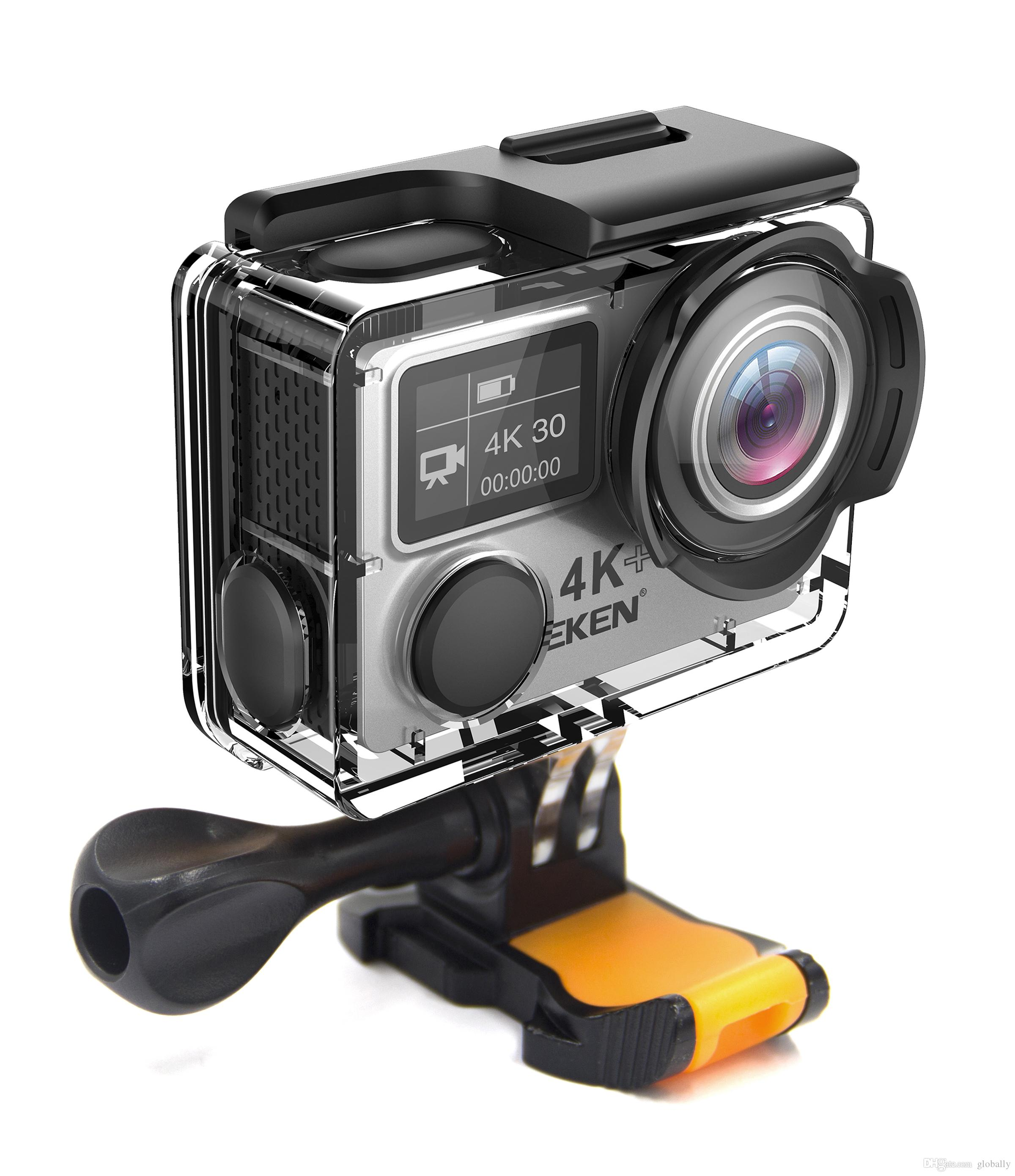 Bestselling EKEN H6s Action Camera 4k 30fps Ultra HD with Ambarella A12 chip inside 30m waterproof Go mini cam pro sport Camera EIS
