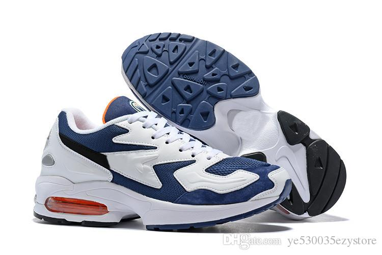 timeless design a8fea 6a729 2019 Max2 Light Running Shoes Max2 Glass Blue Max2 OG Atomic Red Sneakers  Trainers Zapatos Sports Dad Shoes Size Us7 Us12 From Ye530035ezystore, ...
