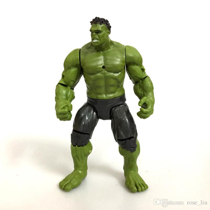 2 Style Avengers 3 Infinity War Figure toys 2018 New Thanos Hulk Joint Movies Movable Action Figure Toy B