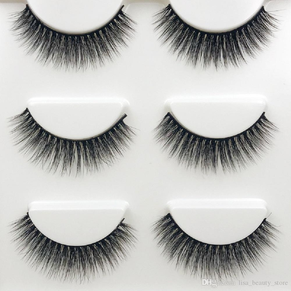 da19a4486a5 2019 /3D Cross Thick False Eye Lashes Extension Makeup Super Natural Long  Fake Eyelashes New From Lisa_beauty_store, $7.14 | DHgate.Com