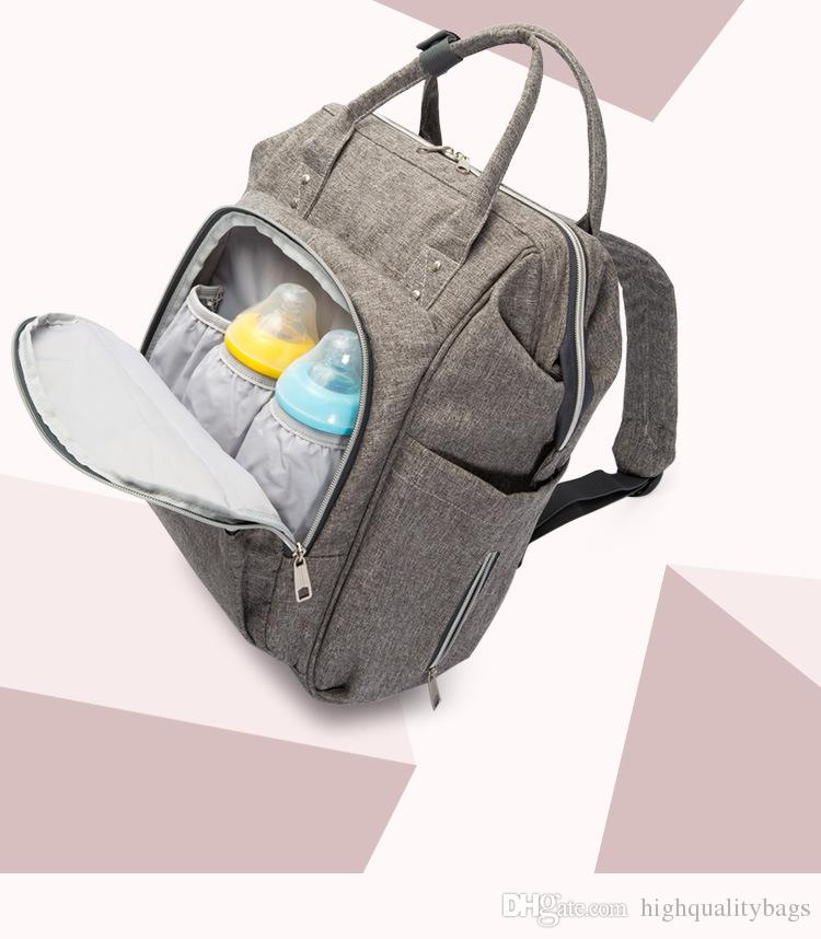 2018 New Multifunctional Baby Diaper Backpack Mommy Changing Bag Mummy Backpack Nappy Mother Maternity Backpacks Party