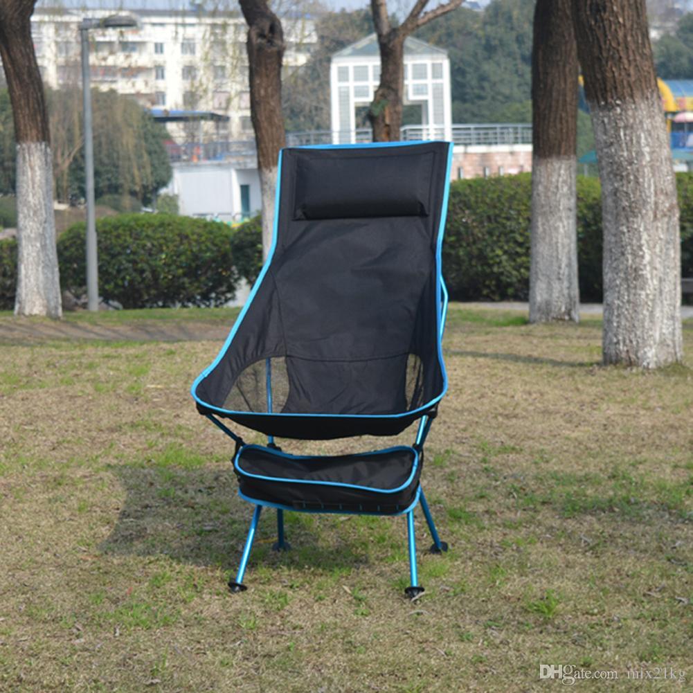 Klapp Tasche Tragbare Angeln Camping Hocker Mit Outdoor Strand Design Verlängern Für Picknick Bbq Stuhl Festival Neu Leichte Sitz QdxoeBrWC