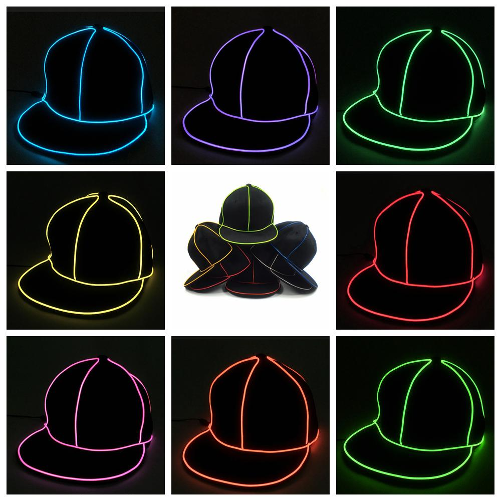 Cap Fluorescent Pub Dancing Party Baseball Hats FFA940 Personalized Birthday First Hat From Liangjingjing Kitche