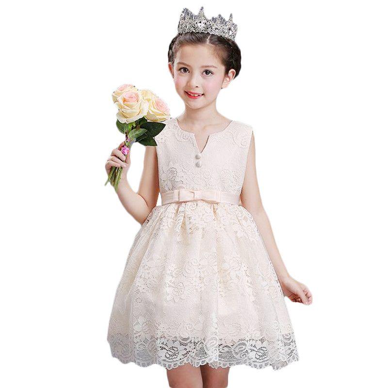 Mädchen Blume Tutu Prinzessin Kleid Kinder Infant Hochzeitskleid Mädchen Kleinkind Elegante Vestido Infantil Party Kleid 3-10Y