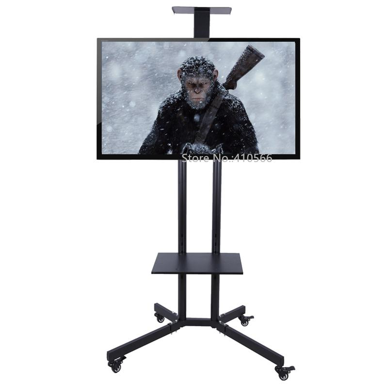 Portable Flat Screen Tv Stand Movable Plasma Television Floor