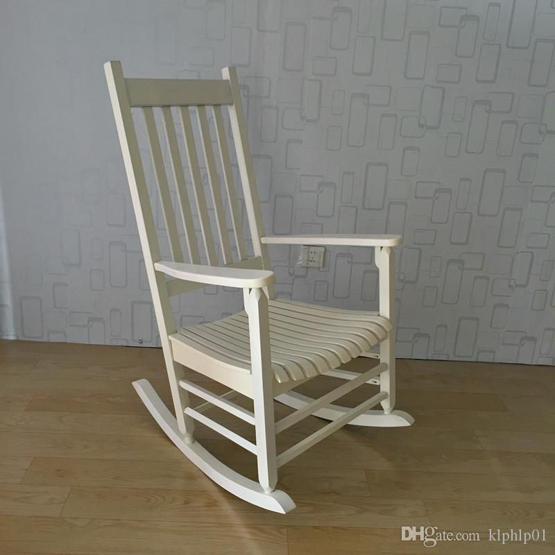 2018 Rocking Chair Wood Presidential Rocker Lving Room Furniture Modern  Style Adult Large Rocker Rocking Chair Indoor/Outdoor Design From Klphlp01,  ...