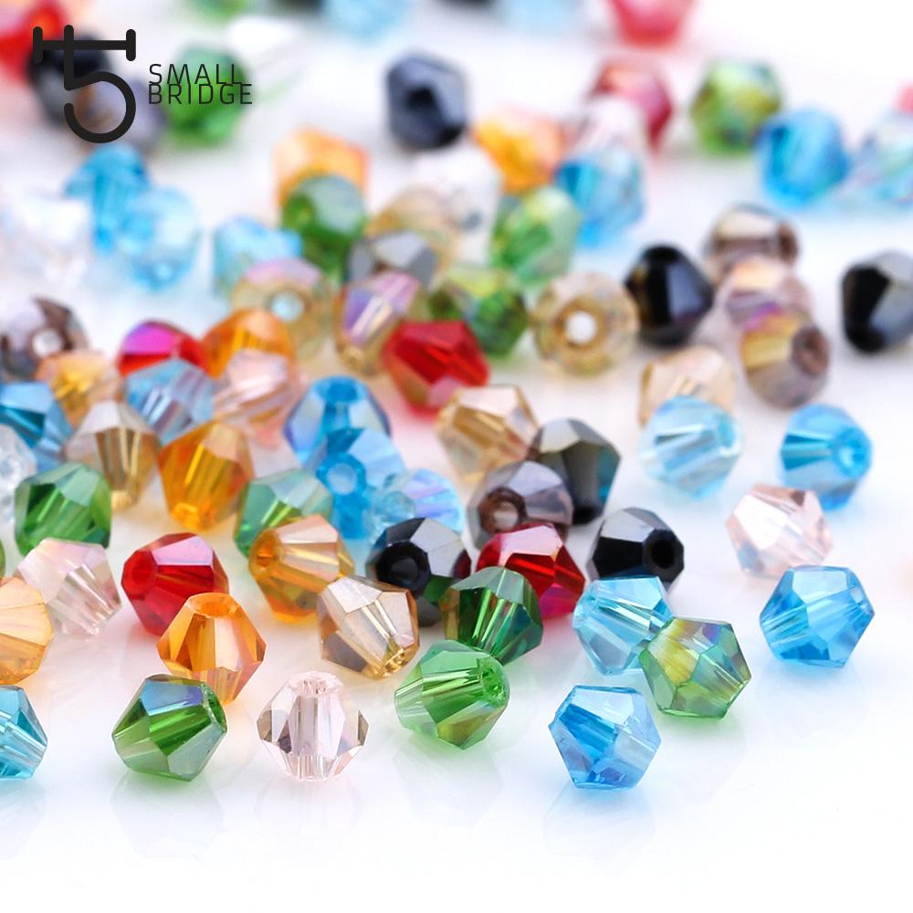 4 6mm Austrian Bicone Crystal Beads For Jewelry Making Bracelets Diy  Accessories Supplies Mix Color Spacer Glass Beads Wholesale UK 2019 From  Pingwang1 a48d32a3a5a7