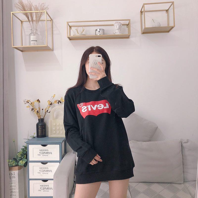 8561a242d2 Men's Women's Hoodie O-neck Couple Models High Quality Terry ...