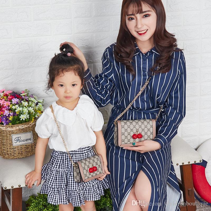 Kinder Handtaschen Mutter Und Tochter Umhängetasche Neue Koreanische Mode Umhängetaschen Mini Handtaschen Mädchen Prinzessin Geldbörsen Kinder Weihnachtsgeschenke