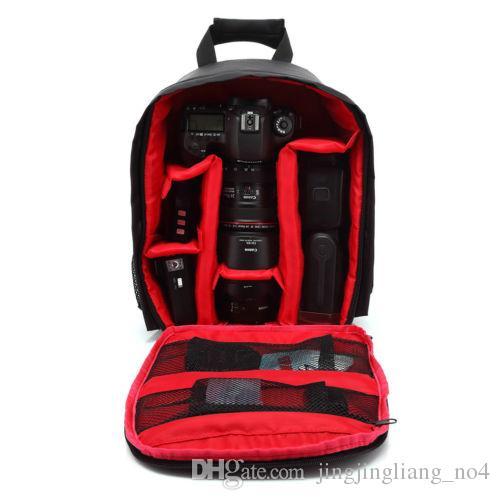 Wasserdichte Digitalkamera Tasche DSLR Video Rucksack Kleine SLR Kamera Rucksack für Nikon Canon Fujifilm Sony Kameras LJJM43
