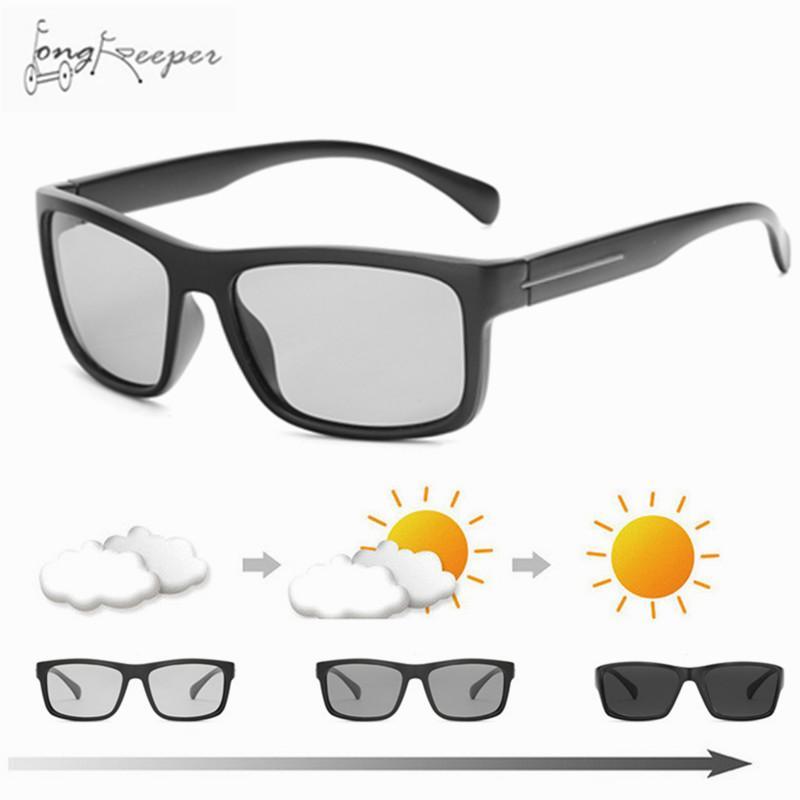 2389c5439d7 Cycling Polarized Photochromic Sunglasses Men Women Driving ...