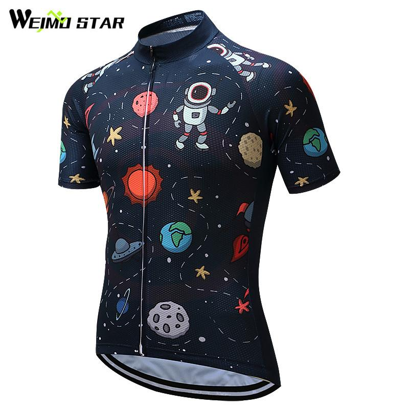 Weimostar Cycling Jersey 2018 Short Sleeve Men Cycling Clothing Breathable Mtb  Bike Jersey Bicycle Clothes Ropa Mens Tops Clothing For Men From Shinny33 47c00590b