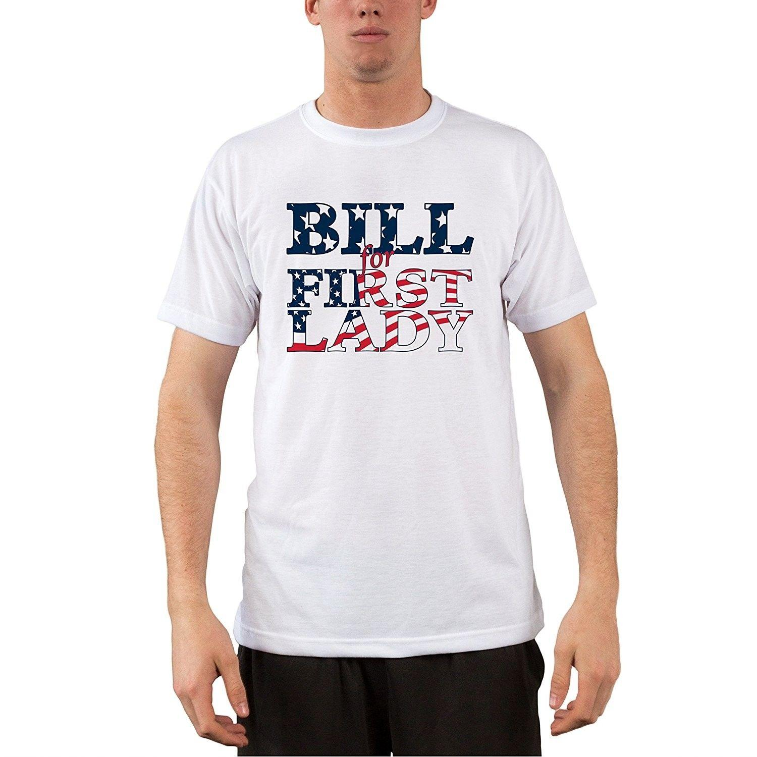 b8aaf1f48 Bill For First Lady Political Performance Short Sleeve Shirt T Shirt Online T  Shirt Designer From Xsy19tshirt, $12.05| DHgate.Com