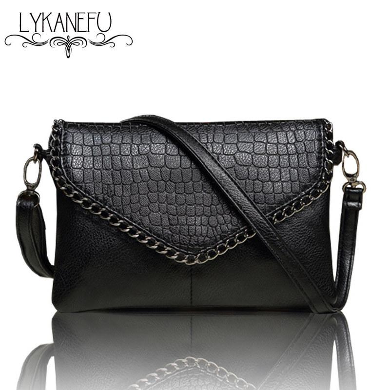 a58031c2124 LYKANEFU Casual Small Bag For Women Messenger Bags For Women Shoulder Bags  Crossbody Black Clutch Purse And Handbag Dollar Price Branded Bags Evening  Bags ...