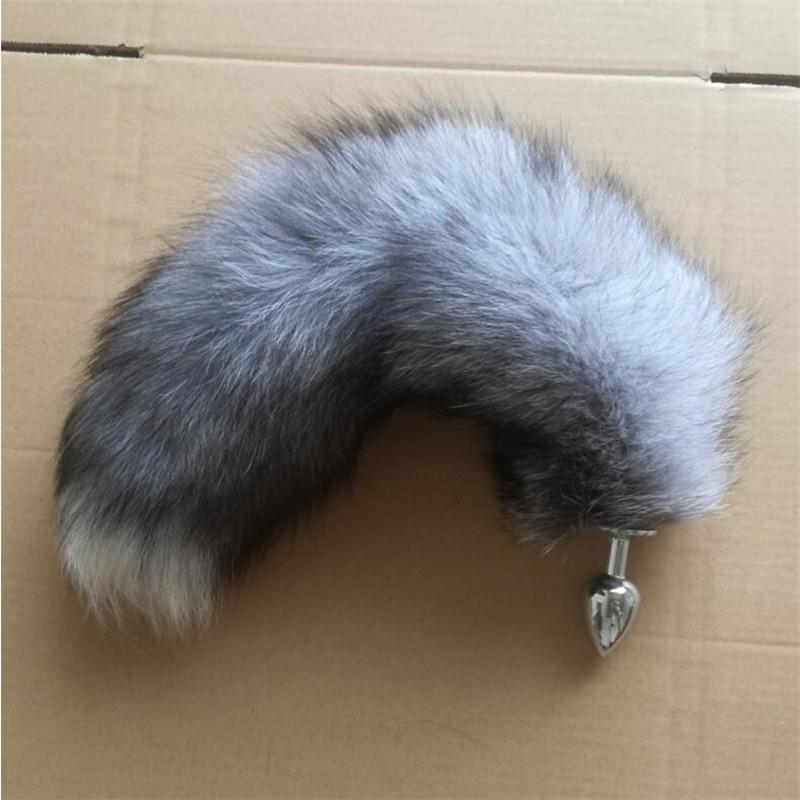 c2b051772 Fashion Key Chains Anal Plug With Big Real Crystal Fox Tails Metal Butt Plug  Couple Sex Toys Erotic Cosplay Tail Key Wallet Key Lanyards From Linyicity