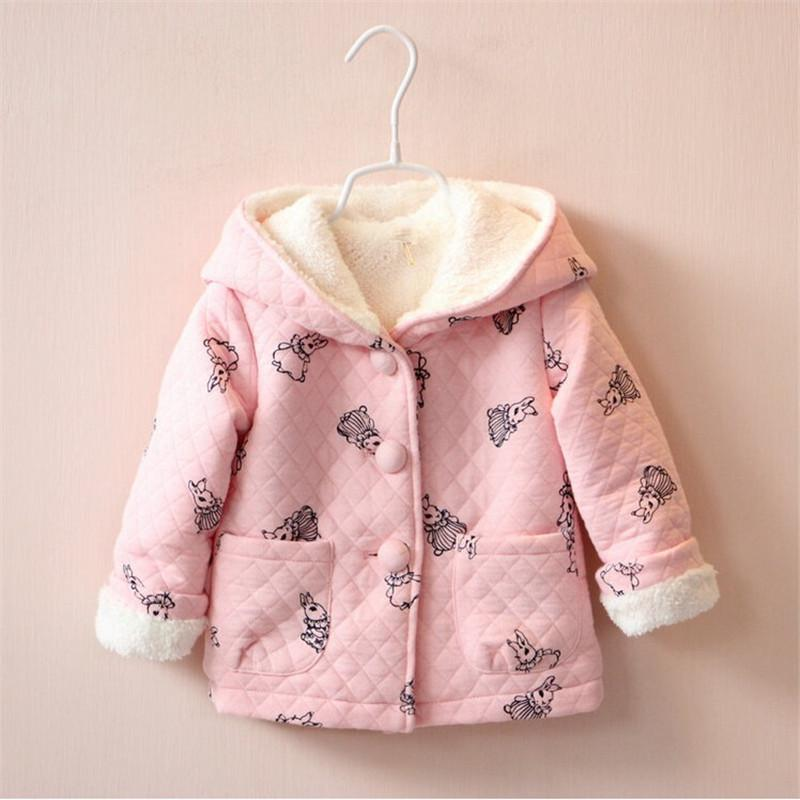 b16a0c2fc BibiCola Baby Girl Hoodies Infant Jackets Coat Girls Outerwear ...