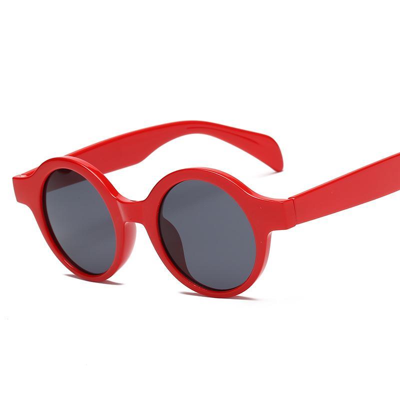 Gafas Moda Compre Para Kujuny Nueva Sol Con De Montura Redonda WD9IYEH2