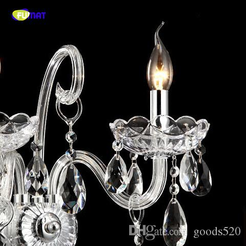 Luxury glittering and quiet Wall Sconce Lighting European-style lights mirror front bedside lamp crystal lamp Wall lamp bedroom