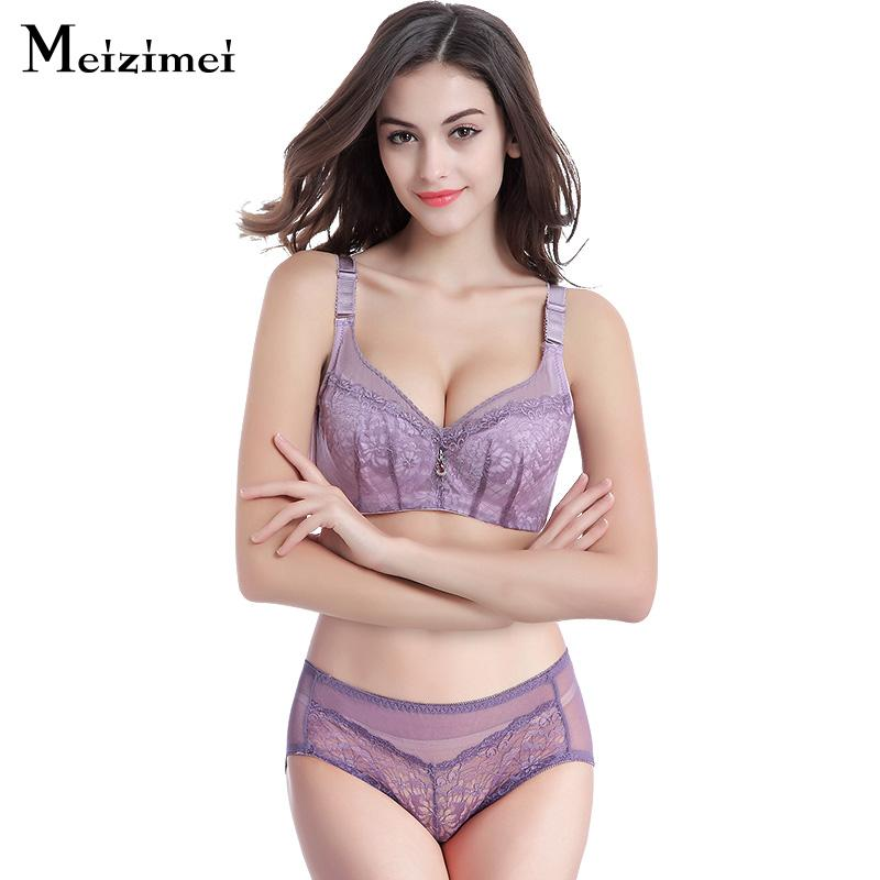 2019 Meizimei Lolitas Cute Bra Panties Set Japan Sexy Push Up Underwear  Women Black Transparent Lingerie Hot Embroidery Panties Sets From Dolylove 996ac7bbb