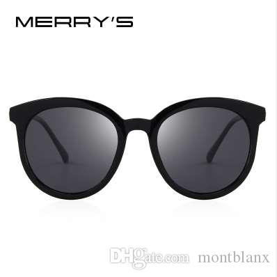 c7a3d62f97 MERRY S Women Brand Designer Cat Eye Polarized Sunglasses 100% UV Protection  S 6152 Best Sunglasses Dragon Sunglasses From Montblanx