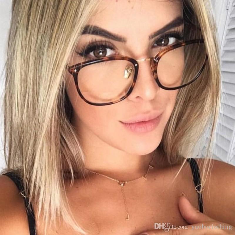 1f5fb52817037 Compre New Oculos De Grau Ultra Light Tr90 Armações De Óculos Falsos Para  As Mulheres Retro