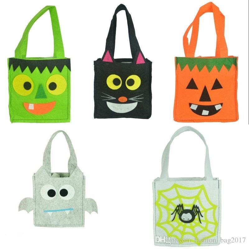 8d5c3d2377a6 Halloween Tote Bag Handbag Gift Bags Halloween Children Bat Bag ...