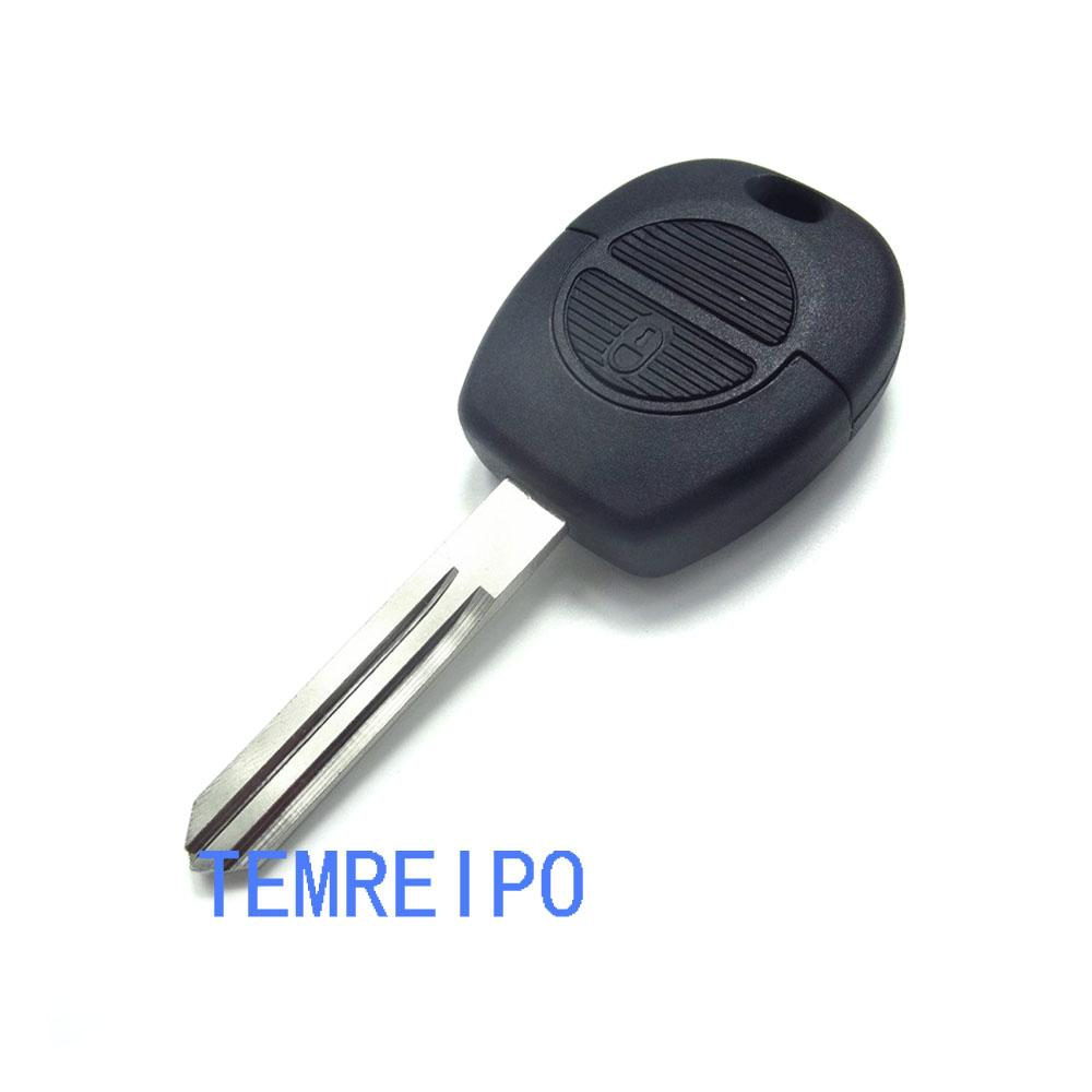 2 Button Remote Flip Fob Car Key Shell For Nissan Micra Almera Primera X-Trail Replacement Uncut Blade Case Cover