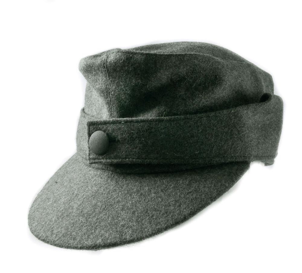64ab0c84c49 2019 WWII GERMAN ARMY EM SOLDIER M44 PANZER WOOL FIELD CAP HAT IN SIZES  World Store From Suipao