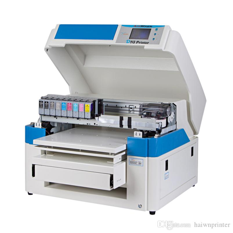 Dtg white t shirt printer cheap t shirt printing machine for Cheapest t shirt printing machine