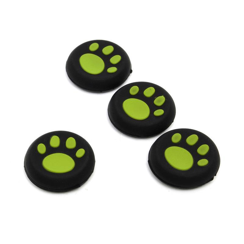 Cute PS4 Silicone Skin Joystick Cover Case Cap Cat Paws For PS4 PlayStation 4 PS4 Controllers wireless For Xbox one