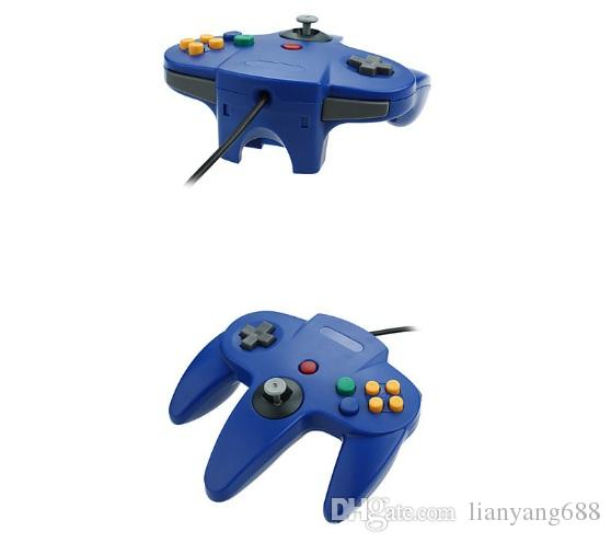 Long Controller Game Pad Joystick System for Nintendo 64 N64 Console without Retail Packaging