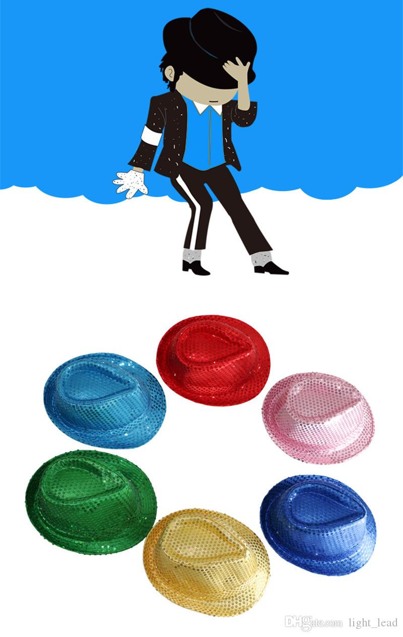 Светодиодная светящаяся шляпа мигает Джаз блестки взрослый колпачок хип-хоп этап реквизит производительность светящиеся шляпы