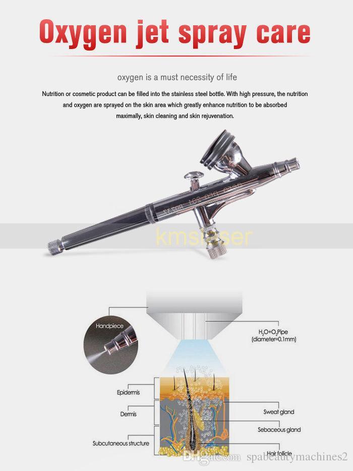 2017 touch screen german pump SPA Salon use 3 in 1 diamond skin jet peel water hydro microdermabrasion dermabrasion oxygen facial machine