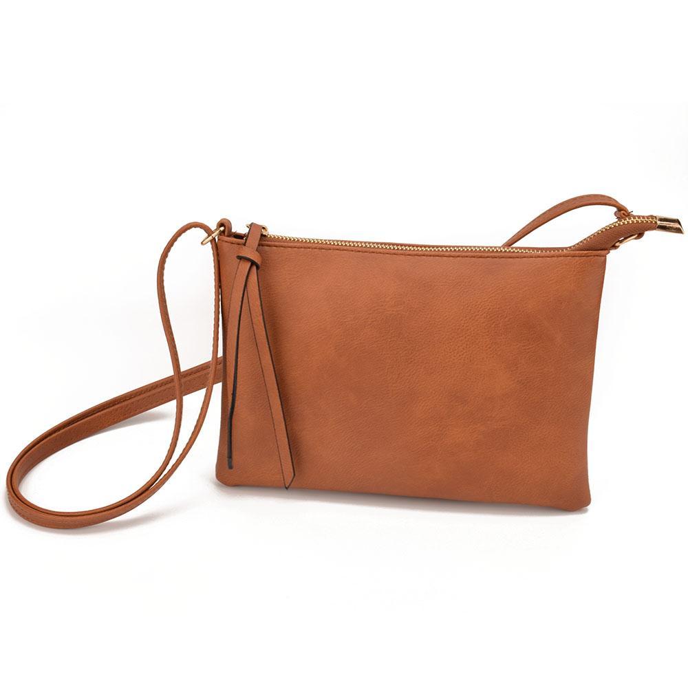 139aaec068 Heap Shoulder Bags JIARUO Vintage Slim Thin Women Leather Messenger Envelope  Crossbody For Ladies Mini Shoulder Bag Handbag Purses Hand.