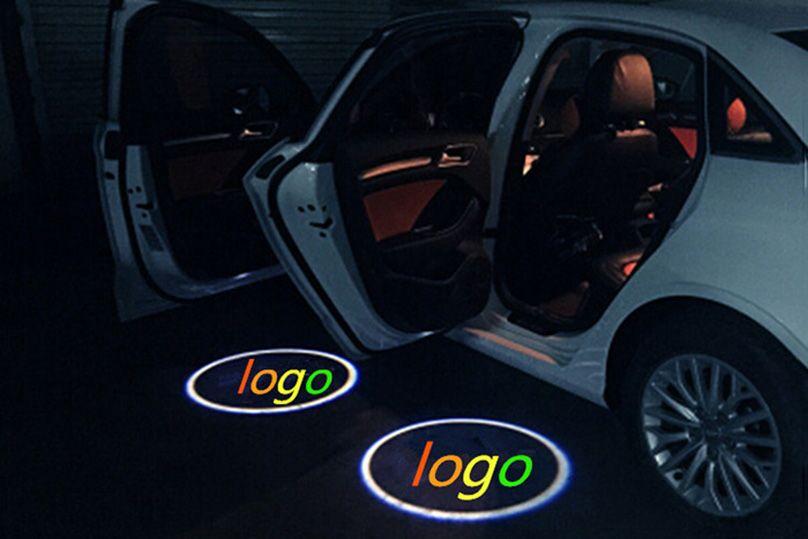 LED Door Step Luce di cortesia Welcome Light Laser Shadow Logo Lampada del proiettore Subaru Subaru XV 2013 Impreza 2010-2017 Tribeca 2011