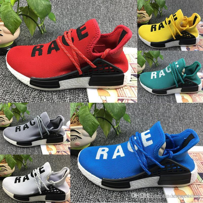 f8914d616 Human Race NMD Factory Real 2017 Yellow Red Green Black Orange NMD ...