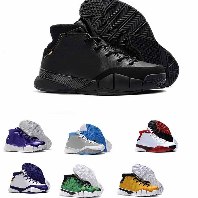 scarpe kobe 1 uomo nere