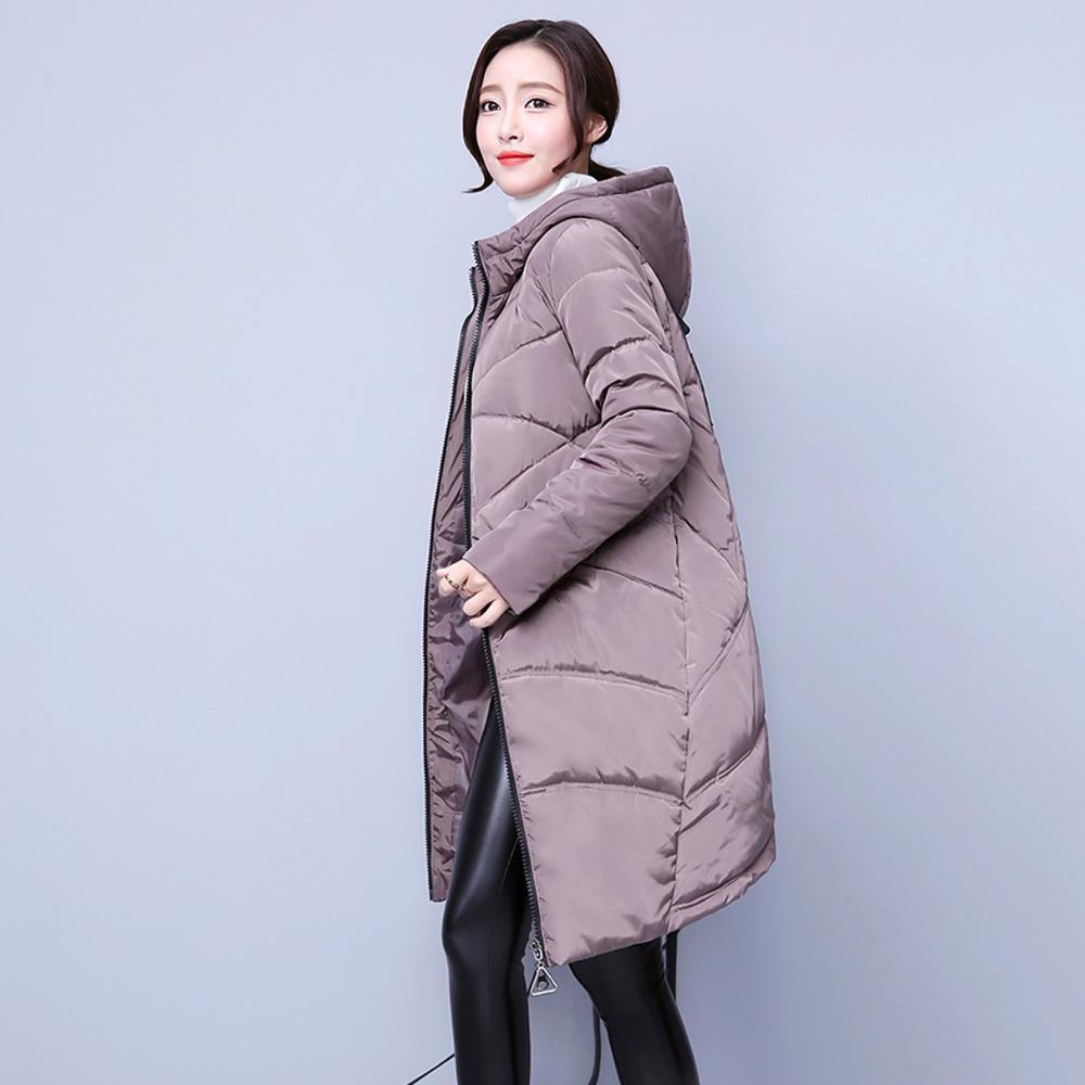 save off ae5f6 d1183 2017 Inverno Piumini Moda Donna Major Suit Cappotto da donna Piumino  Cappotto in cotone Lunghezza media con cappuccio Ricamato