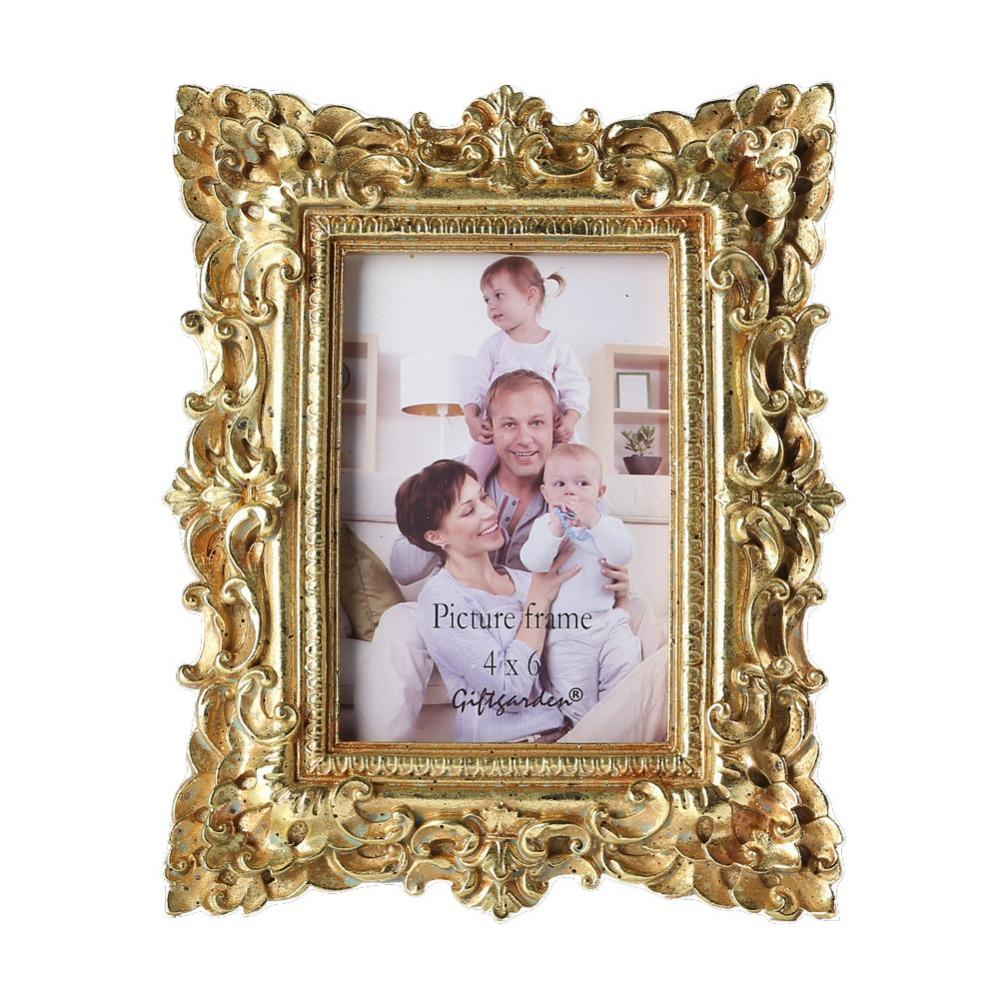 Online Cheap Giftgarden 4x6 Vintage Photo Frames Gold Picture Frame ...