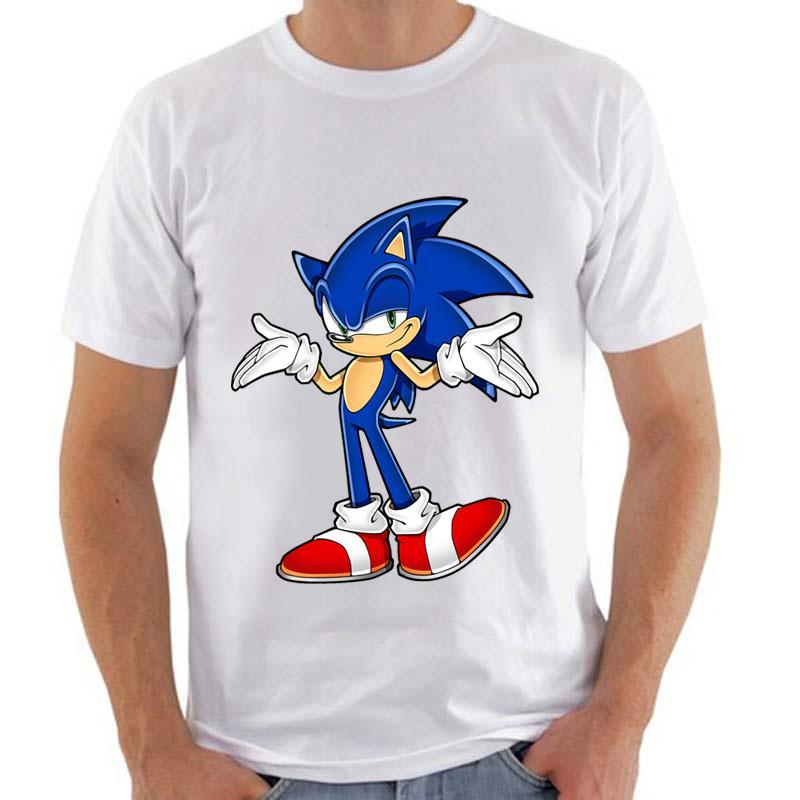 Grosshandel Topjini Plus Grosse Harajuku T Shirt Sonic The Hedgehog
