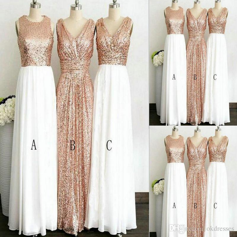 bridesmaid dresses sweet 16 dresses country bridesmaid rose gold Hang a  neck style plus size bridesmaid dresses CK041